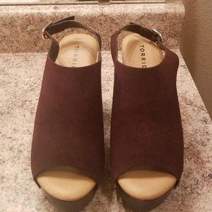 Hello these are new torrid wedges Size 9 Never Wor